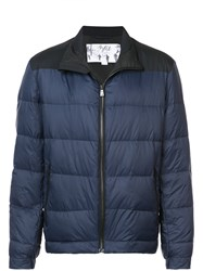 Aztech Mountain Elk Puffer Jacket Polyimide Polyester Feather Down Blue