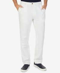 Nautica Classic Fit Lightweight Pants Marshmallow