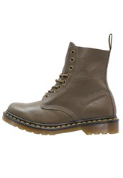 Dr. Martens Pascal Laceup Boots Grenade Green Oliv