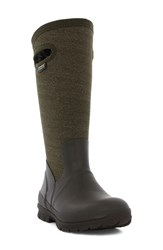 Bogs Women's 'Crandall' Waterproof Tall Boot Chocolate Multi