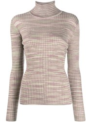 M Missoni Textured Knit Jumper Neutrals
