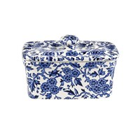 Burleigh Blue Arden Rectangular Butter Dish