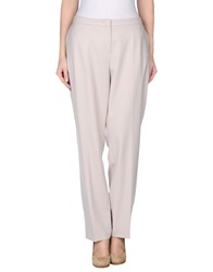 Rena Lange Casual Pants Light Grey