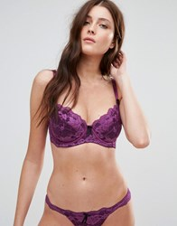 Pour Moi Amour Underwired Bra Dd G Cup Purple