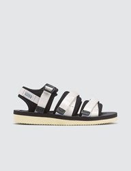 Suicoke White Gga V Sandals