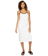 Juicy Couture Venice Beach Microterry Laced Slip Dress White Women's Dress
