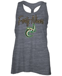 Royce Apparel Inc Women's Charlotte 49Ers Nora Tank Top Charcoal
