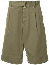 J.W.Anderson Jw Anderson Washed Belted Short Green