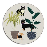 Avenida Home Anne Bentley Placemat Dogs