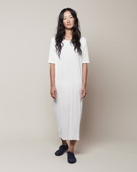 La Garconne Moderne No. 8 Didion Dress White