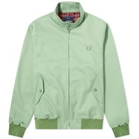 Fred Perry Reissues Made In England Harrington Jacket Green