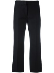N 21 No21 Flared Cropped Trousers Black