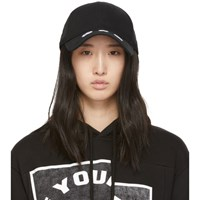 Mcq By Alexander Mcqueen Black Monster Cap
