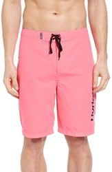 Hurley Men's One And Only 2.0 Board Shorts Neon Pink