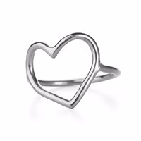 Chupi My Heart Is Open Ring Silver