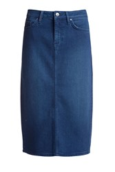 Tommy Hilfiger Rome Long Timi Skirt Blue