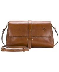 Patricia Nash Tijola Small Crossbody Tan