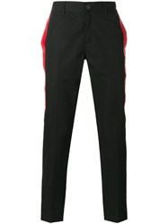 Givenchy Side Stripe Tailored Trousers Black