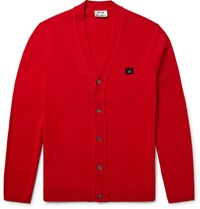 Acne Studios Dasher Wool Cardigan Red