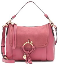 See By Chloe Joan Leather Crossbody Bag Pink