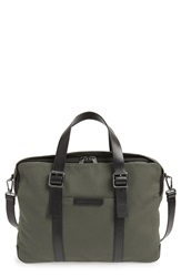Marc By Marc Jacobs 'Classic' Canvas Briefcase Workwear Fatigue