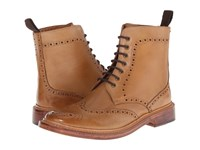 Lotus Dunford Burnished Tan Leather Men's Lace Up Boots Brown