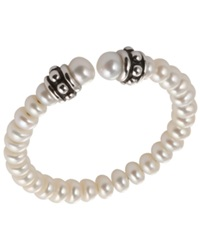 Honora Style Children's Cultured Freshwater Cuff Bracelet In Sterling Silver