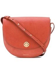 Mansur Gavriel Hobo Shoulder Bag Women Calf Leather One Size Brown