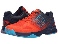 Wilson Kaos Comp Red Navy Suba Blue Men's Tennis Shoes Orange