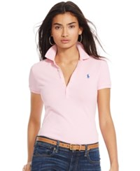 Polo Ralph Lauren Skinny Fit Stretch Polo Shirt Tennessee Orange