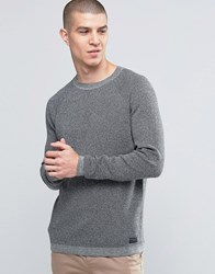 Selected Homme Raglan Crew Neck Grey