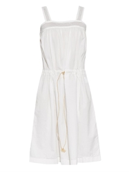 Visvim Contrast Panel Cotton Dress