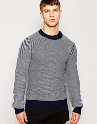 Another Influence Twist Jumper Navy