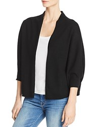 Bloomingdale's C By Lightweight Cashmere Cocoon Cardigan 100 Exclusive Black