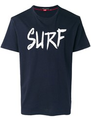 Perfect Moment Surf Print T Shirt Blue