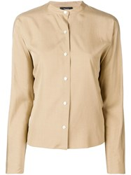 Theory Casual Shirt Neutrals
