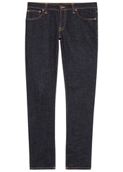Nudie Jeans Tight Long John Indigo Slim Leg Jeans