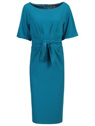 Jolie Moi Short Sleeve Kimono Dress Teal