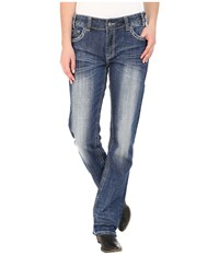 Rock And Roll Cowgirl Boyfriend Jeans In Light Vintage W2 5629 Light Vintage Women's Jeans Blue
