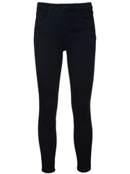 L'agence Margot High Rise Skinny Jeans Blue
