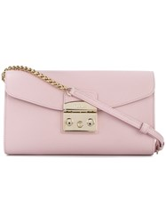Furla Metropolis Bag Pink And Purple