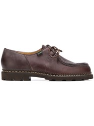 Paraboot Michael Lace Up Shoes Brown