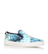 Gucci Dublin Blossom Skate Shoes Male Blue