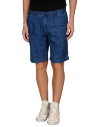 Our Legacy Denim Bermudas Blue