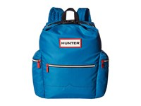 Hunter Original Top Clip Nylon Backpack Ocean Blue Backpack Bags