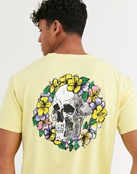 Quiksilver Og Dead Flowers T Shirt In Yellow