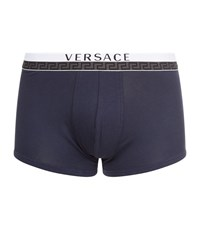 Versace Titan Low Rise Trunks Male Navy