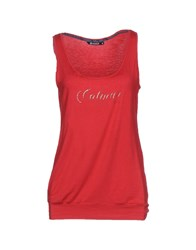 Colmar Tank Tops Red