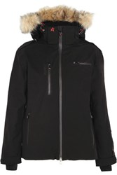 Perfect Moment Qanuk Pro Ii Padded Canvas Ski Jacket Black