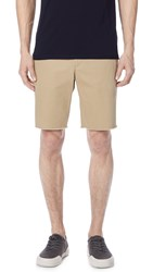 Vince Slim Fit Chino Shorts Khaki